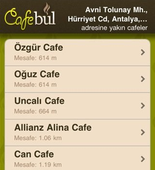 Cafe Bul Ekran Görüntüleri - 3