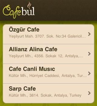 Cafe Bul Ekran Görüntüleri - 1