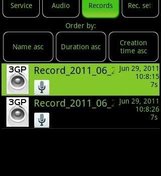 Call Recorder Galaxy S2 / S3 Ekran Görüntüleri - 1
