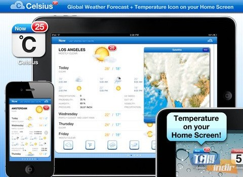 Celsius - Weather and Temperature on your Home Screen Ekran Görüntüleri - 5