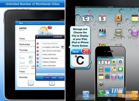Celsius - Weather and Temperature on your Home Screen Ekran Görüntüleri - 2
