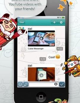 Cubie Messenger Ekran Görüntüleri - 1