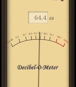 Decibel-O-Meter Free Ekran Görüntüleri - 1