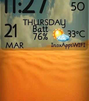 Digital Clock Live Wallpaper Ekran Görüntüleri - 4