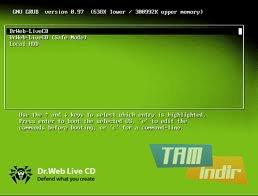 Dr. Web LiveCD Ekran Görüntüleri - 3