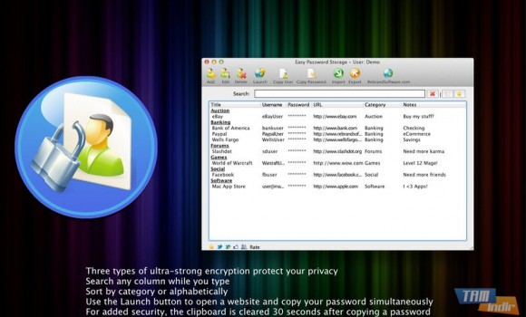 Easy Password Storage Ekran Görüntüleri - 4