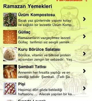 Enfes Yemekler Ekran Görüntüleri - 2