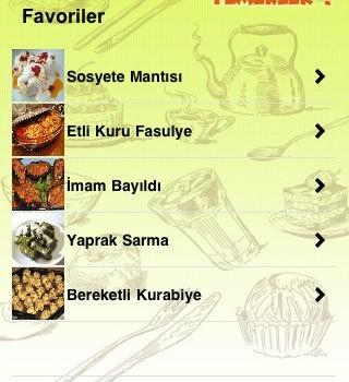 Enfes Yemekler Ekran Görüntüleri - 1