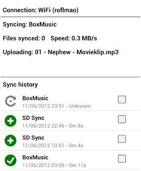 FolderSync Ekran Görüntüleri - 2