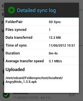 FolderSync Ekran Görüntüleri - 1