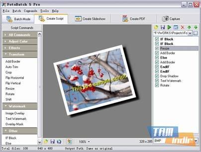 FotoBatch Ekran Görüntüleri - 3