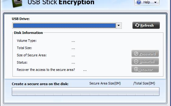GiliSoft USB Stick Encryption Ekran Görüntüleri - 1