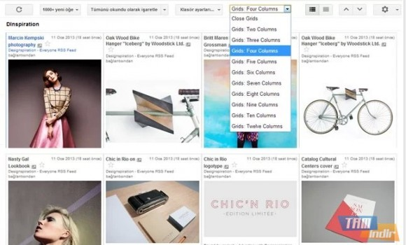 Grid Preview For Google Reader Ekran Görüntüleri - 1