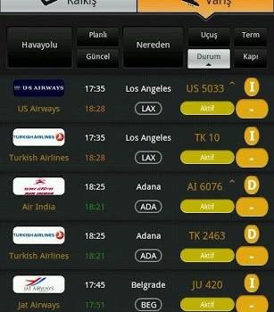 Havayolu uçuş durumu Pro Ekran Görüntüleri - 8