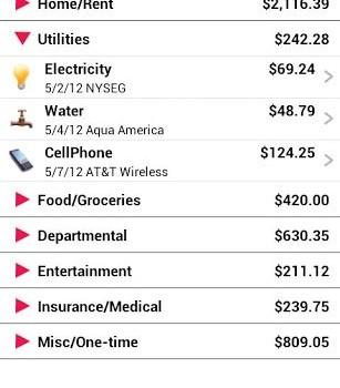 Home Budget Ekran Görüntüleri - 6