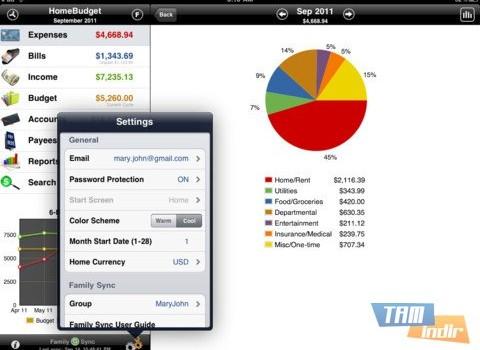 Home Budget Ekran Görüntüleri - 3