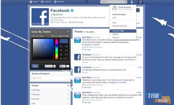 Safari İçin Color My Twitter Ekran Görüntüleri - 4