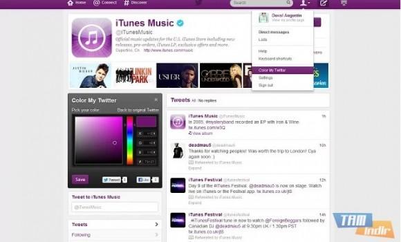 Safari İçin Color My Twitter Ekran Görüntüleri - 2