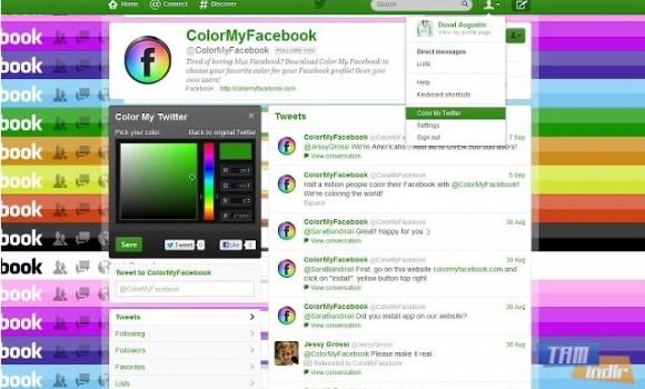 Safari İçin Color My Twitter Ekran Görüntüleri - 3