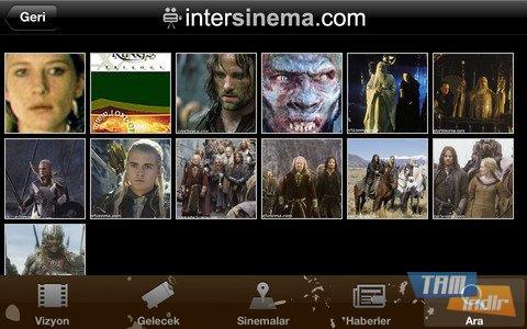 interSinema Ekran Görüntüleri - 1