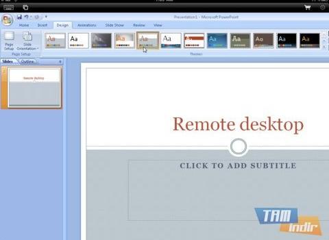 iRemoteDesktop Free Ekran Görüntüleri - 1