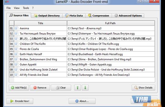 LameXP Ekran Görüntüleri - 1