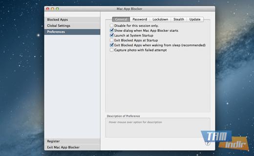Mac App Blocker Ekran Görüntüleri - 1