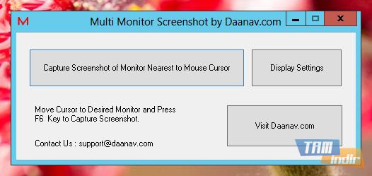 Multi Monitor Screenshot Ekran Görüntüleri - 1