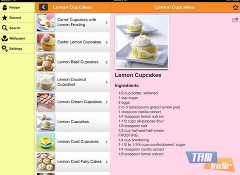 Party Cupcake Recipes Ekran Görüntüleri - 1