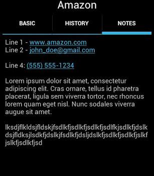 PasswdSafe Ekran Görüntüleri - 2