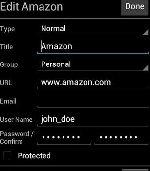 PasswdSafe Ekran Görüntüleri - 1
