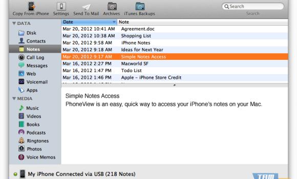 PhoneView Ekran Görüntüleri - 3