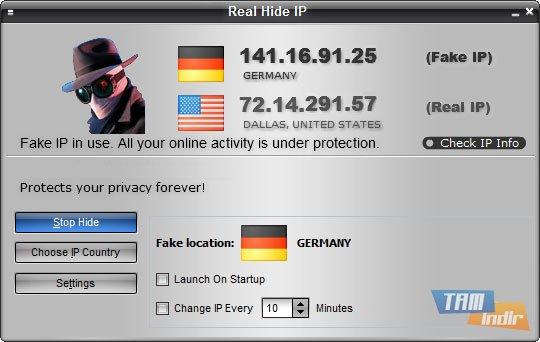 Real Hide IP Ekran Görüntüleri - 5