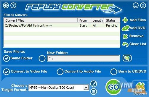 Replay Converter Ekran Görüntüleri - 3