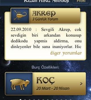 Rezan Kiraz Astroloji Ekran Görüntüleri - 1