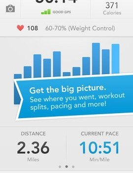 RunKeeper - GPS Track Running Walking Cycling Ekran Görüntüleri - 1