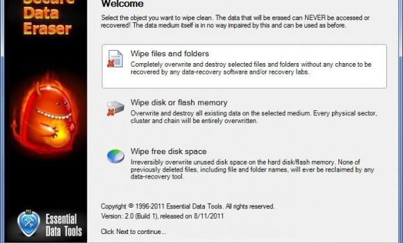 Secure Data Eraser Ekran Görüntüleri - 1