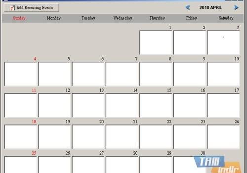 Smart Calendar Software Ekran Görüntüleri - 6