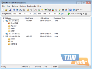 SoftPerfect Network Scanner  Ekran Görüntüleri - 4