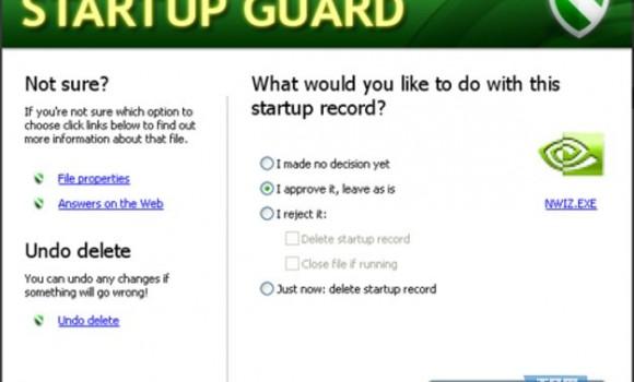 Startup Guard Ekran Görüntüleri - 1