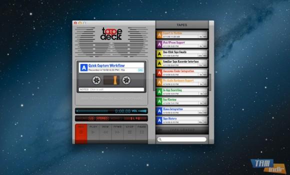 TapeDeck Ekran Görüntüleri - 1