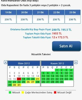 Tatil Sepeti Ekran Görüntüleri - 2