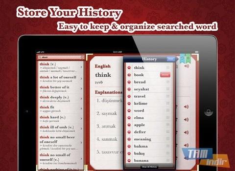 Turkish English Dictionary Free Ekran Görüntüleri - 10