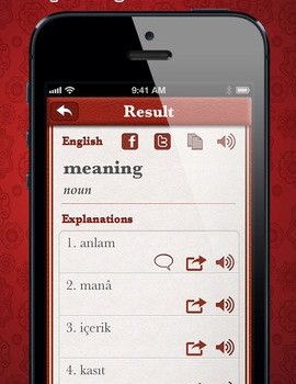 Turkish English Dictionary Free Ekran Görüntüleri - 2