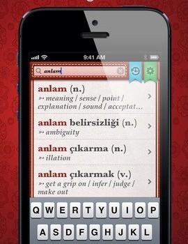 Turkish English Dictionary Free Ekran Görüntüleri - 1