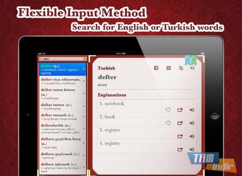 Turkish English Dictionary Free Ekran Görüntüleri - 8