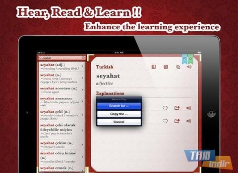 Turkish English Dictionary Free Ekran Görüntüleri - 9