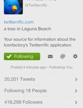 Twitterrific 5 for Twitter Ekran Görüntüleri - 4