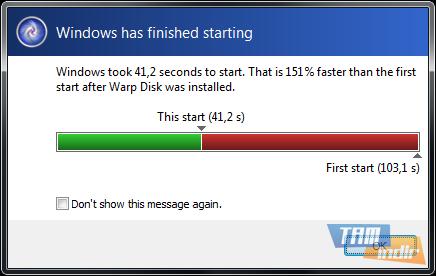 Warp Disk Ekran Görüntüleri - 1