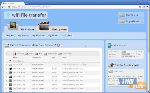 WiFi File Transfer Ekran Görüntüleri - 4